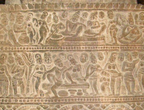 Chalukya music sculpture