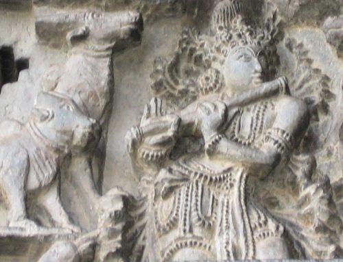 Musical instruments in Mysur temple sculpture